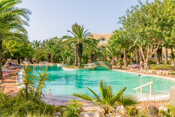 Piscine - Mediterranée Thalasso Golf 3* Hammamet Tunisie