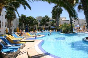 Tunisie-Tunis, Hôtel Nesrine