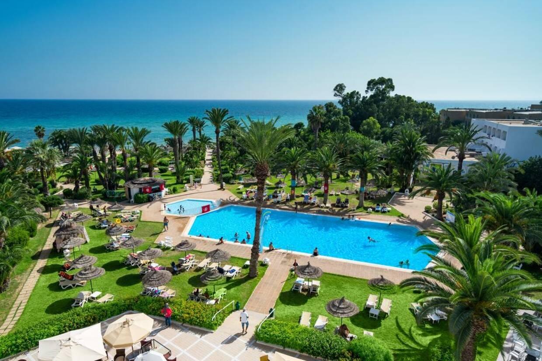 Piscine - Hôtel Palm Beach Hammamet 4* Tunis Tunisie