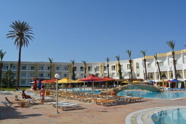 Piscine - Hôtel Ruspina 4* Tunis Tunisie