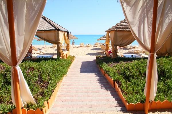 Plage - Hôtel Alhambra Thalasso Hammamet 5* Tunis Tunisie