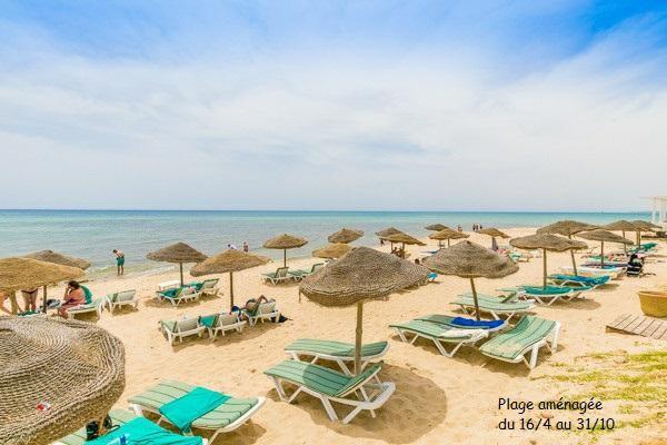 Plage - Club Framissima Khayam Garden Beach & Spa 4* Tunis Tunisie
