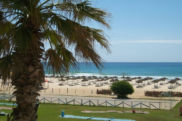 Plage - Hôtel Les Colombes Hammamet 3* Tunis Tunisie
