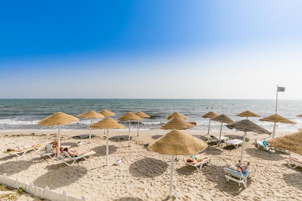 Plage - Hôtel My Hotel Garden Beach 3* Tunis Tunisie