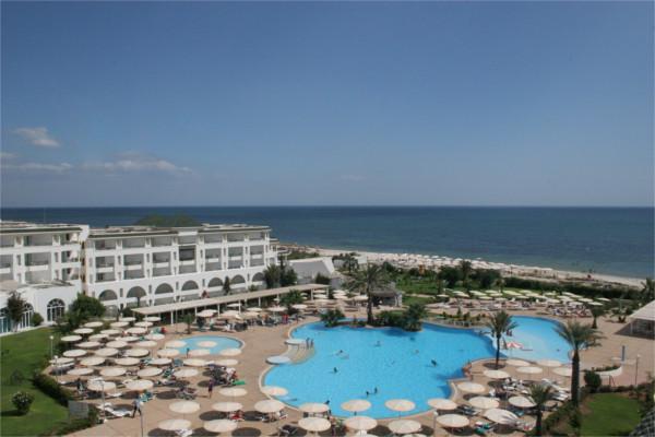 Vue panoramique - Hôtel El Mouradi Palm Marina 5* Tunis Tunisie