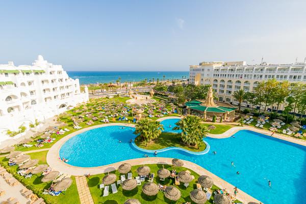 Vue panoramique - Hôtel Lella Baya 4* Tunis Tunisie