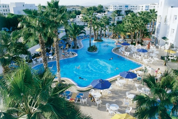 Vue panoramique - Hôtel Nesrine 4* Tunis Tunisie