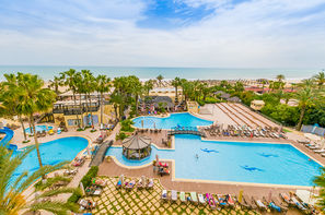 Tunisie-Tunis, Hôtel Paradis Palace