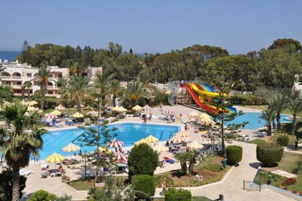 Vue panoramique - Hôtel Riviera Resort 4* Tunis Tunisie