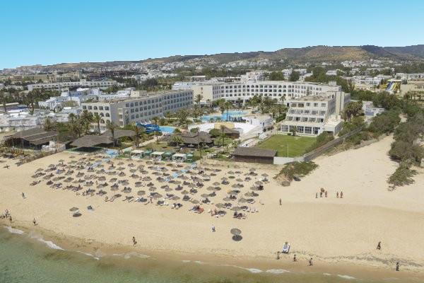 Vue panoramique - Hôtel Vincci Nozha Beach 4* Tunis Tunisie
