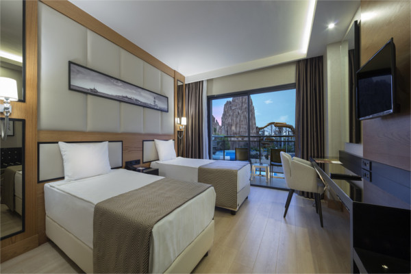 Chambre - Hôtel Aydinbey Queen's Palace & Spa 5* Antalya Turquie