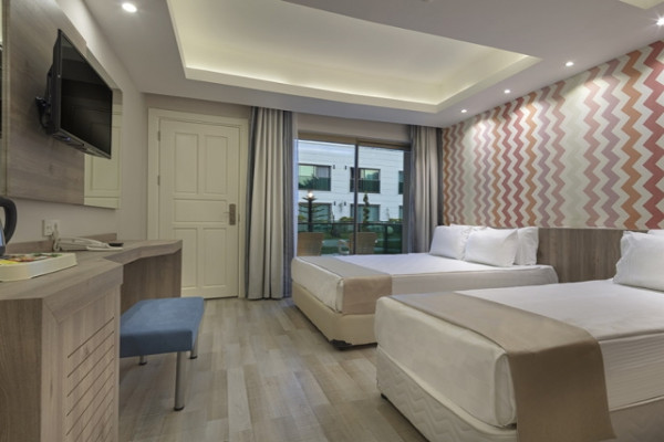 Chambre - Hôtel Dosinia Luxury Resort 5* Antalya Turquie