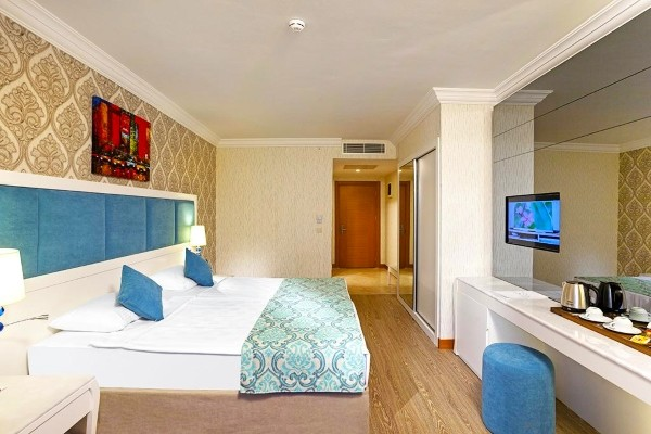 Chambre - Hôtel Heaven Beach Resort & Spa 5* Antalya Turquie