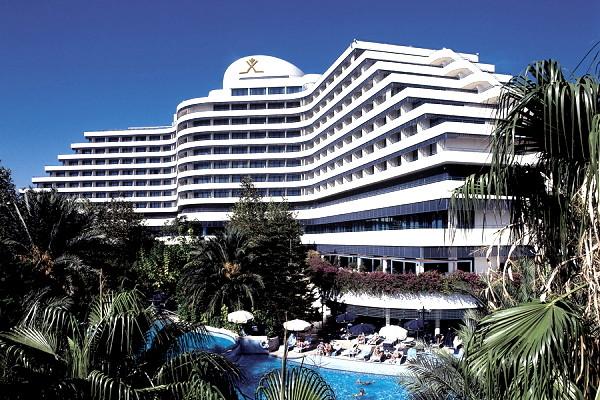 Facade - Hôtel Rixos Downtown 5* Antalya Turquie