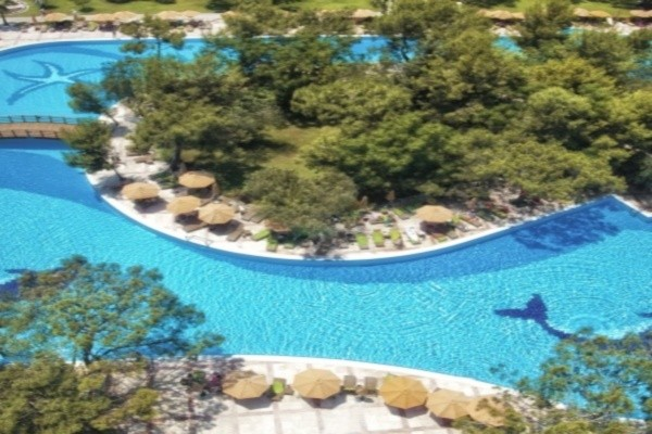 Piscine - Hôtel Akka Antedon 5* Antalya Turquie