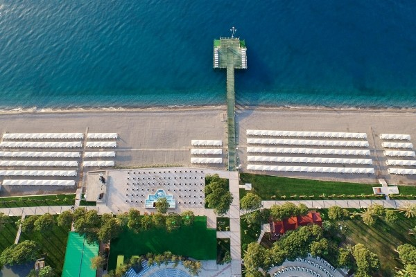 Piscine - Hôtel Alva Donna World Palace 5* Antalya Turquie