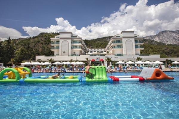 Piscine - Hôtel Dosinia Luxury Resort 5* Antalya Turquie