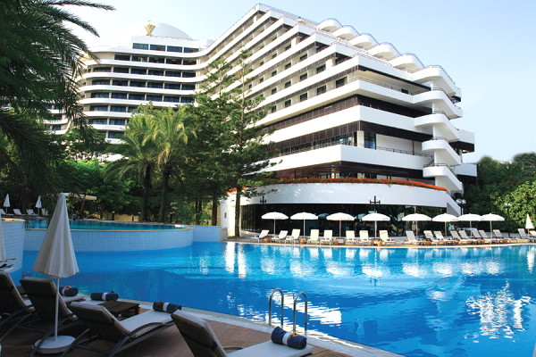 Piscine - Hôtel Rixos Downtown 5* Antalya Turquie