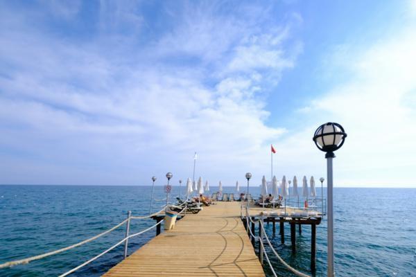 Plage - Hôtel Anitas Hotel 4* Antalya Turquie
