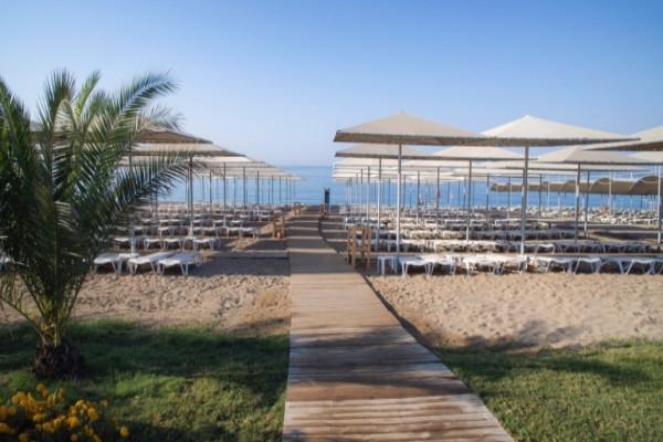 Plage - Hôtel Riolavitas Spa & Resort 5* Antalya Turquie