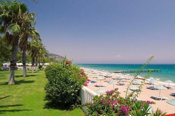 Plage - Hôtel Sultan Beldibi 4* Antalya Turquie