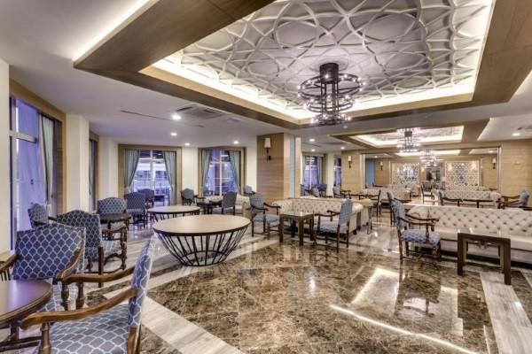 Restaurant - Hôtel Sherwood Exclusive Lara 5* Antalya Turquie