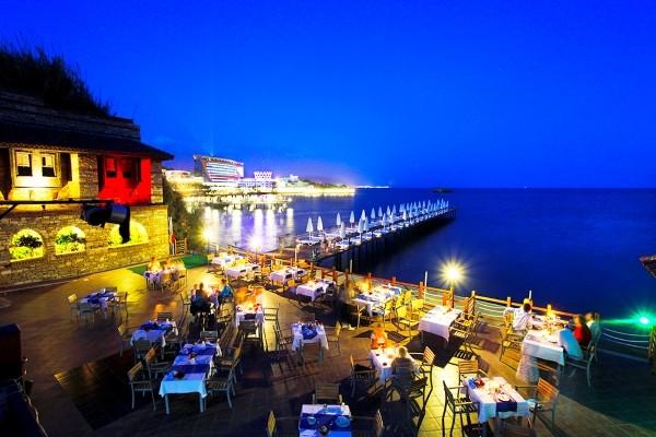 Terrasse - Hôtel Q Aventure Park 5* Antalya Turquie