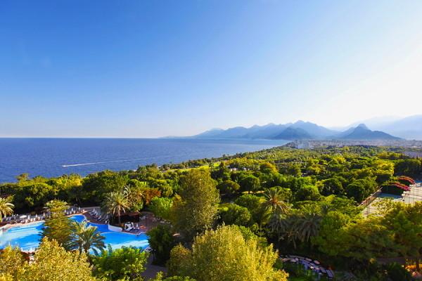 Vue panoramique - Hôtel Rixos Downtown 5* Antalya Turquie