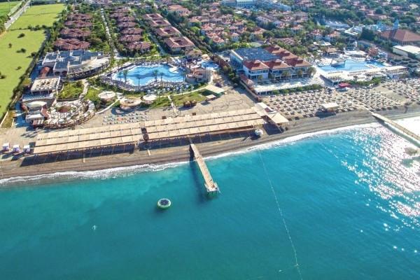 Vue panoramique - Hôtel TIU BLUE Palm Garden 4* Antalya Turquie