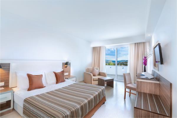 Chambre - Hôtel Club Shark Hotel 4* Bodrum Turquie