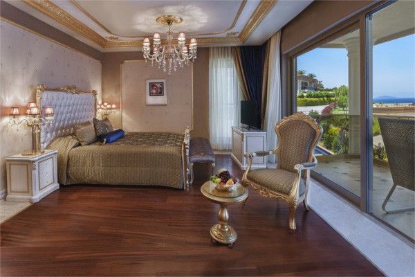 Chambre - Hôtel Hotel Bodrum Paramount 5* Bodrum Turquie