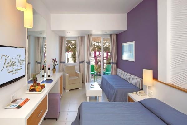 Chambre - Hôtel Kadikale Resort 4* Bodrum Turquie