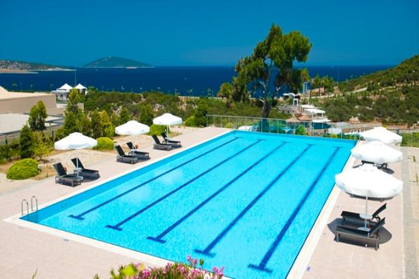 piscine - Hilton Bodrum Türkbükü Resort & Spa