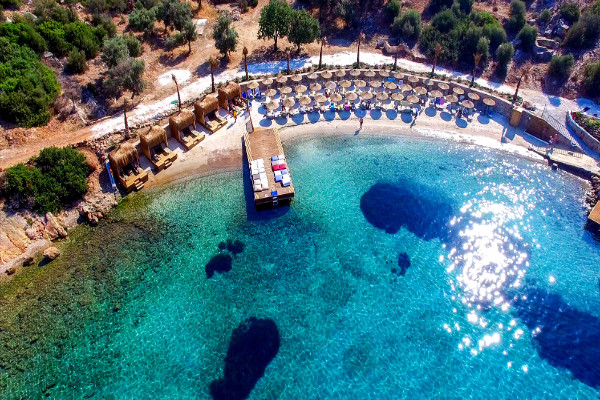 Plage - Hôtel Bodrum Holiday Resort 4* Bodrum Turquie