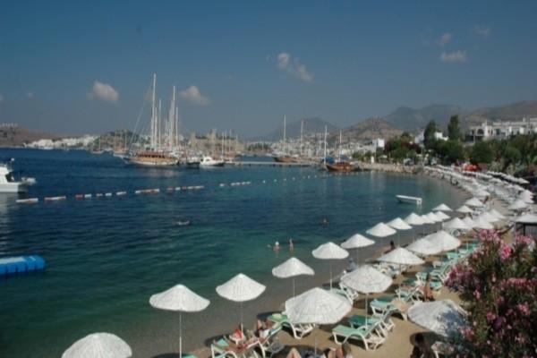Plage - Hôtel Diamond Of Bodrum 5* Bodrum Turquie