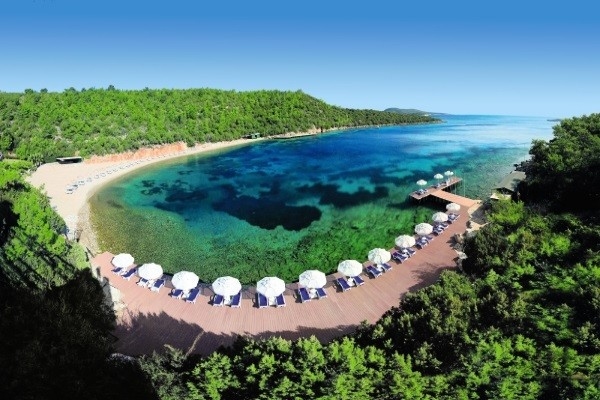 Plage - Club FTI Privilège Bodrum Park Resort 5* Bodrum Turquie
