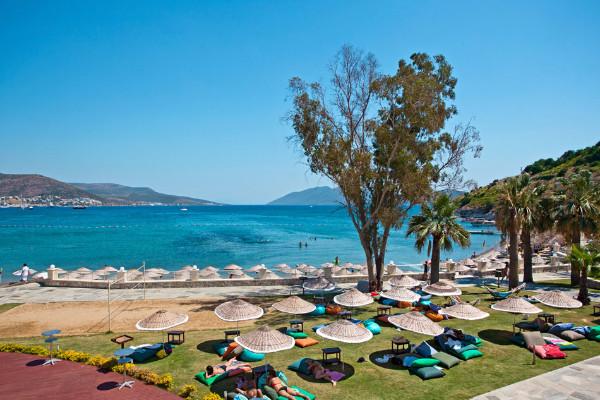 Plage - Hôtel Salmakis Resort & Spa 4* sup Bodrum Turquie