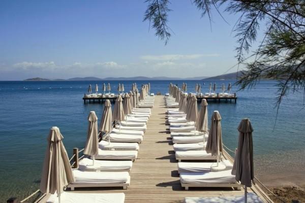 Plage - Hôtel Voyage Torba 5* Bodrum Turquie