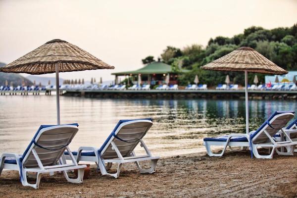 Plage - Hôtel Yasmin Bodrum Resort 5* Bodrum Turquie
