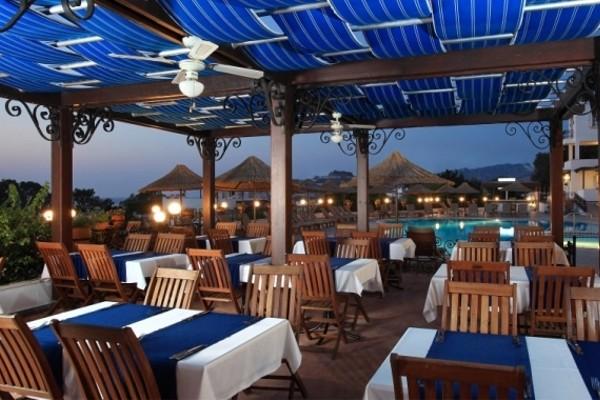 Terrasse - Hôtel Cactus Charme 3* Bodrum Turquie