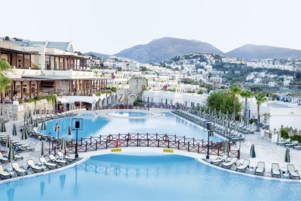 Vue panoramique - Hôtel Asteria Bodrum Resort 5* Bodrum Turquie