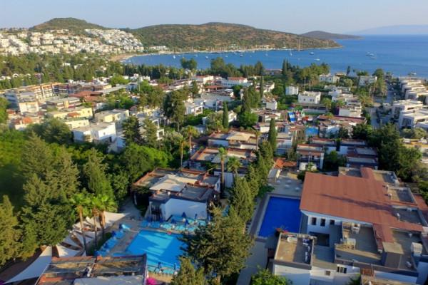 Vue panoramique - Hôtel Bitez Garden Life 4* Bodrum Turquie