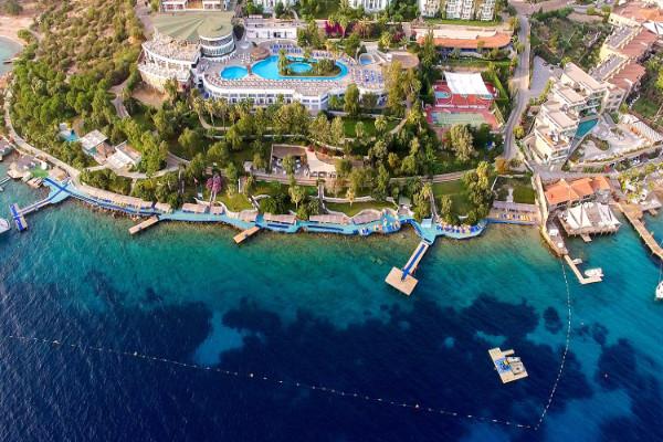 Vue panoramique - Hôtel Bodrum Holiday Resort 4* Bodrum Turquie