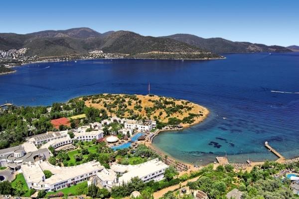 Vue panoramique - Hôtel Samara 4* Bodrum Turquie