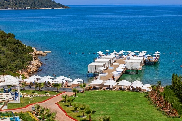 Vue panoramique - Hôtel Thor by Alkoclar Exclusive 5* Bodrum Turquie