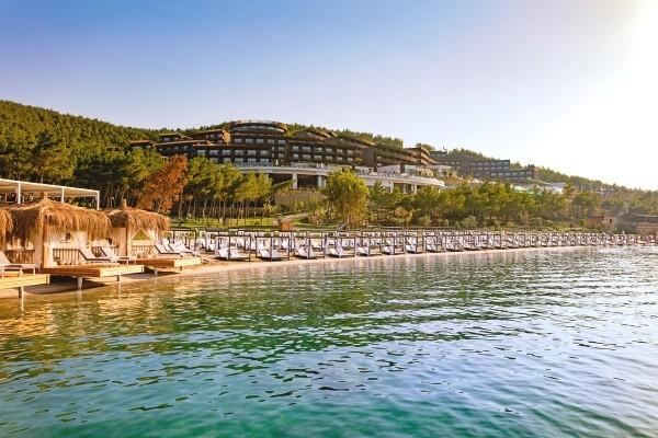 Vue panoramique - Hôtel Titanic Deluxe Bodrum 5* Bodrum Turquie
