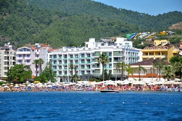 Plage - Hôtel BlueBay Platinum 5* Dalaman Turquie