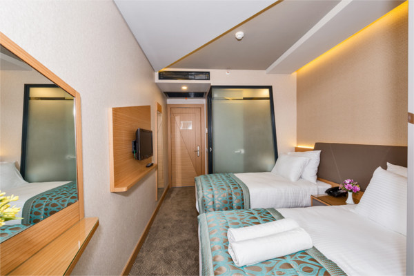 Chambre - Hôtel Genova 4* Istanbul Turquie