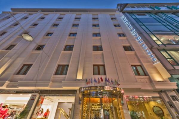 Facade - Hôtel Bekdas 4* Istanbul Turquie