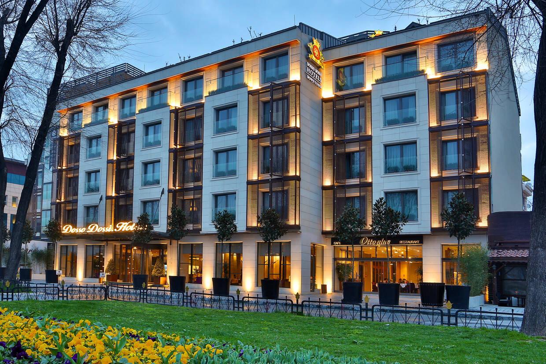 Facade - Hôtel Dosso Dossi 5* Istanbul Turquie